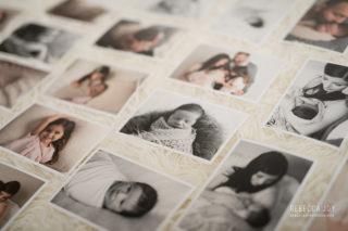 studio newborn and maternity photography session | rebecca joy studios