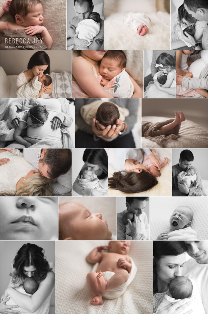 Victoria Newborn Photographer | Rebecca Joy Studios