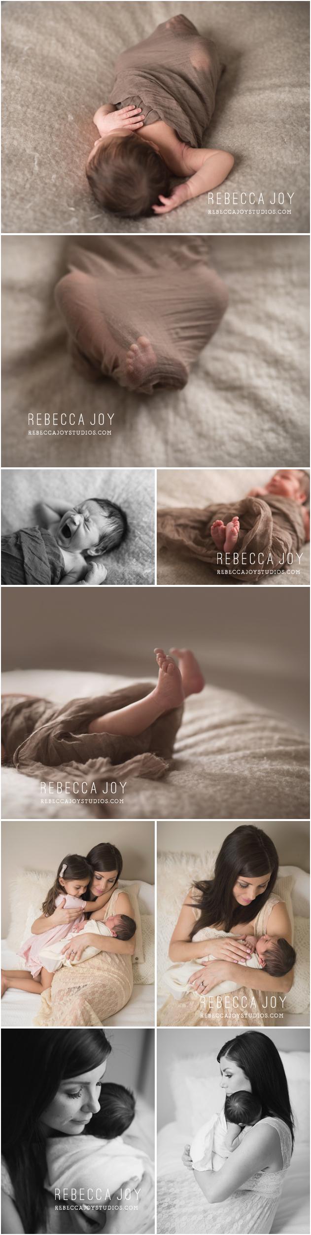 Victoria Newborn Photography | Rebecca Joy Studios